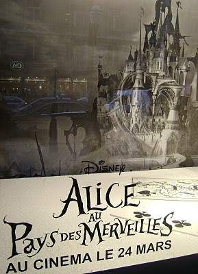 Alice in Wonderland in Paris