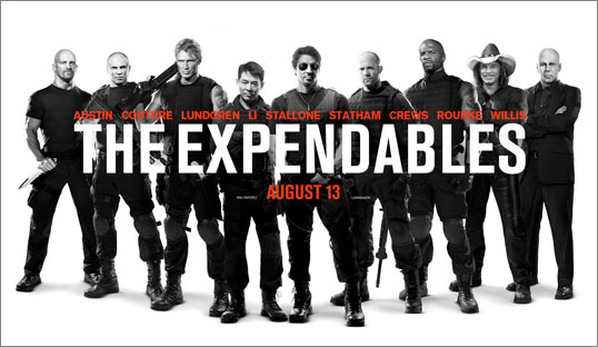 Expendables: Video Advertising