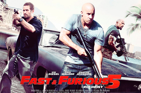 """Fast & Furious 5"" con una carrera virtual en Google Maps"