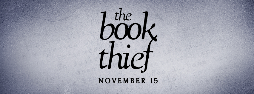 The New York Times en blanco para promocionar The Book Thief