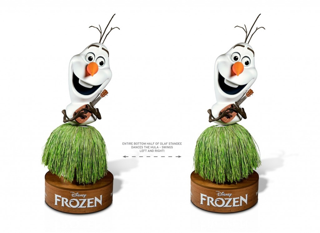 Disney´s Frozen_ Theatrical Standee