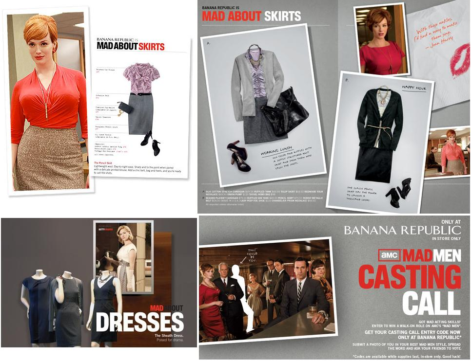 Cinema Marketing Mad Men Banana Republic Jenni Fleet