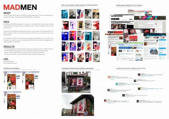 Cinema marketing_Mad Men AD Facebook