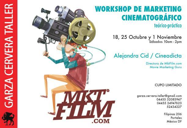 Workshop de marketing cinematográfico en México