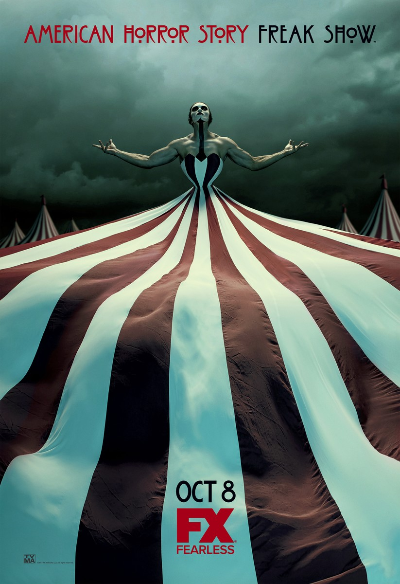4.American Horror Story- Freak Show One-Sheet1(2)