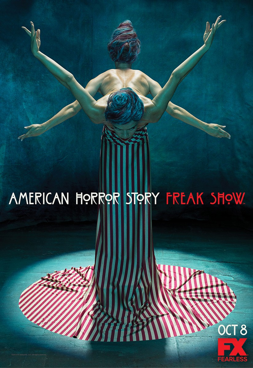 4.American Horror Story- Freak Show One-Sheet5(2)