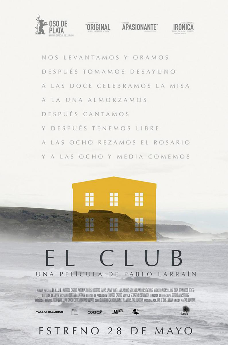 10 El Club best movie poster 2015