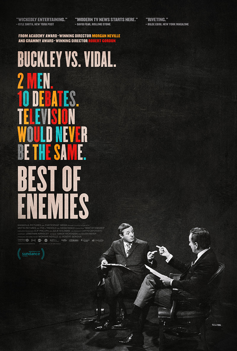25 best of enemies Best poster movies 2015