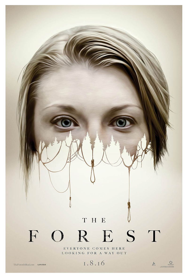 33 - The Forest = Best poster movies 2015