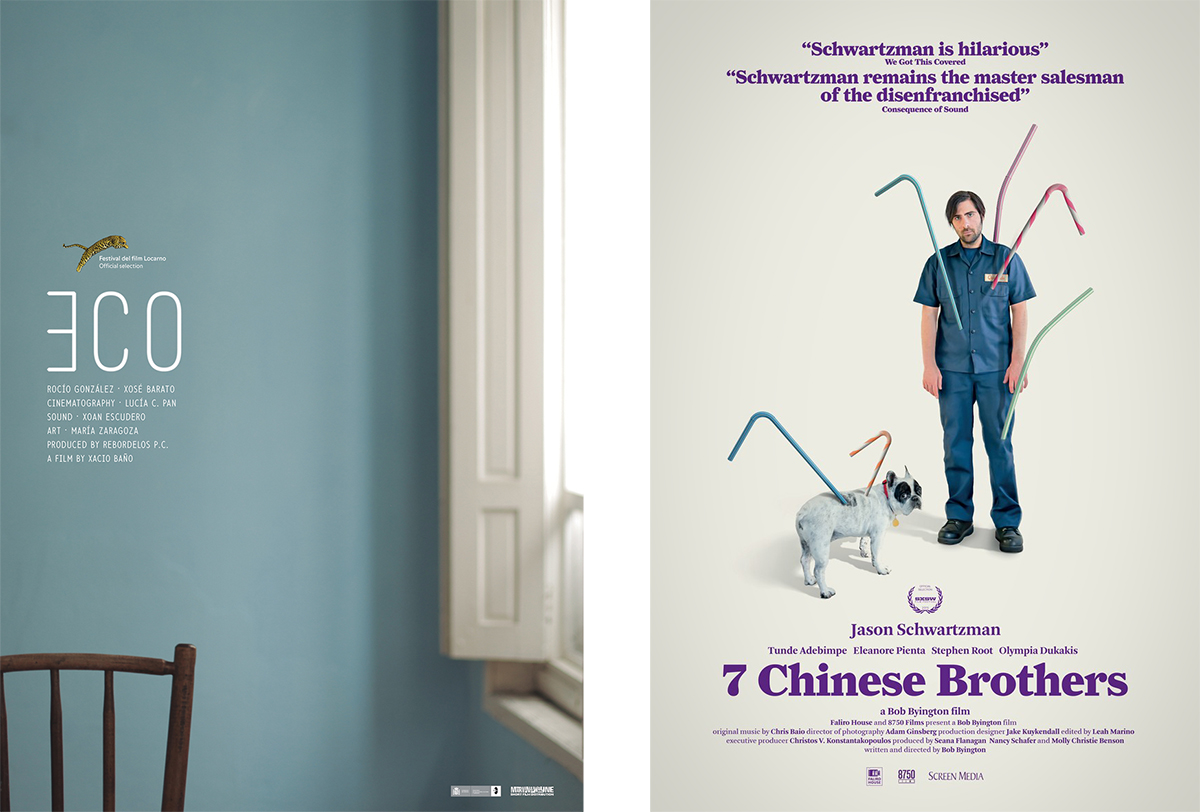 eco-7 chinese brothers movie posters