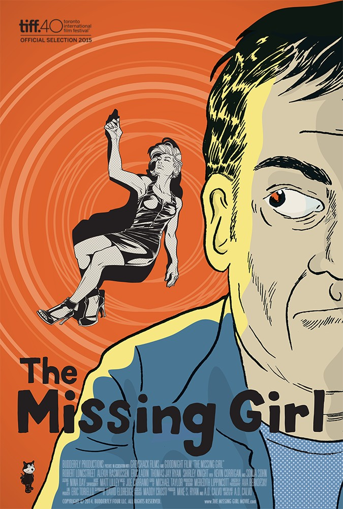 missing girl movie poster