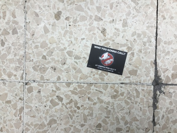 business cards ghostbusters