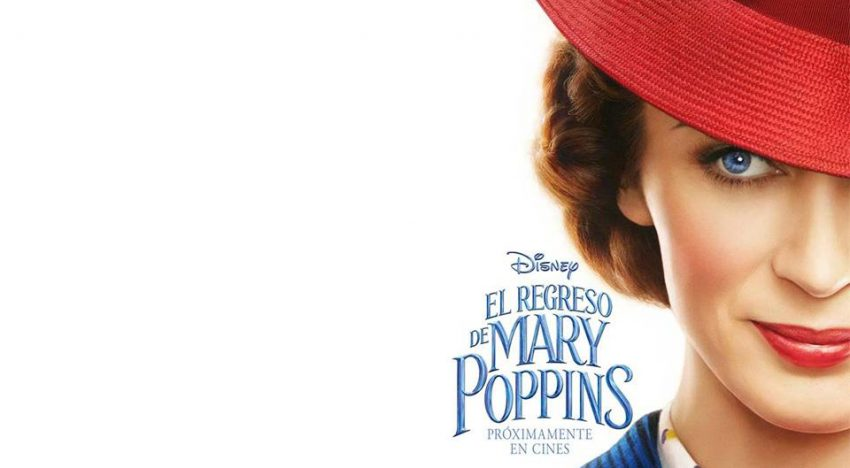Disney Spain usa póster de Mary Poppins diseñado por una abuela :)